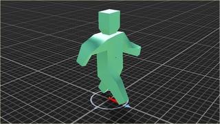 Анимация покоя,атаки,бега в Unity 5,экспорт нескольких анимаций из Blender 3D