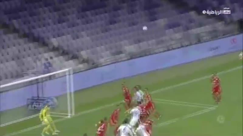 Голевая передача Исламхана в матче против «Аль-Шаржа»