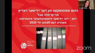 Stutchkoff and Yiddish radio | Amanda Miryem-Khaye Seigel
