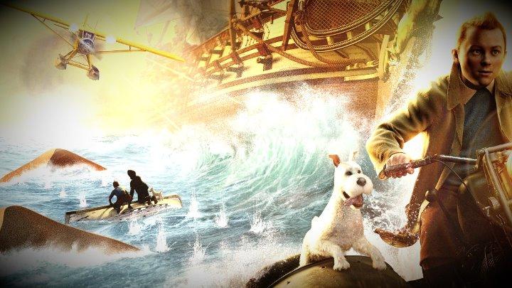 Приключения Тинтина Тайна Единорога The Adventures of Tintin 2011 Стивен Спилберг HD 720 Dub