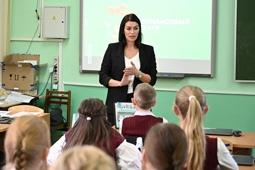 Липецкие школьники побывали на «Уроке цифры»