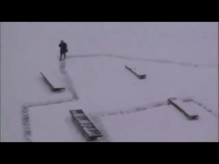 Cestička v snehu