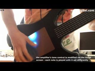Misa Digital Guitar. Электрогитара на сенсоре.