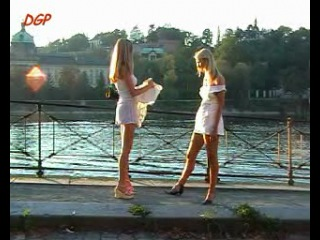 Diaper girl in public - 061 -2 blonde girls pee and poop their diapers