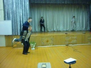 Отжигательный танец на репетиции