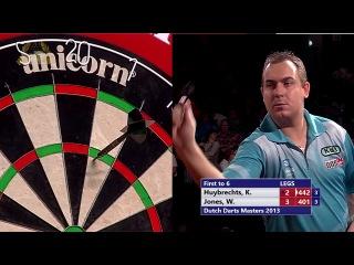 Kim Huybrechts vs Wayne Jones (Dutch Darts Masters 2013 / Second Round)