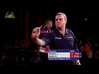 Jelle Klaassen vs Ross Smith (Dutch Darts Masters 2013 / First Round)