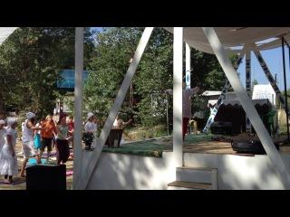 спонтанный танец на Фестивале КЙ в Вологограде на Ксюшином классе