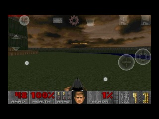 Тестирование shotguns667.pk7 в Doom Touch
