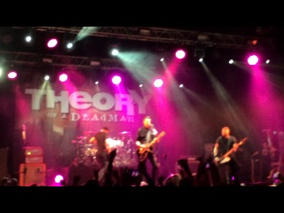 Theory Of A Deadman - Bitch Came Back @ Ray Just Arena, Moscow,