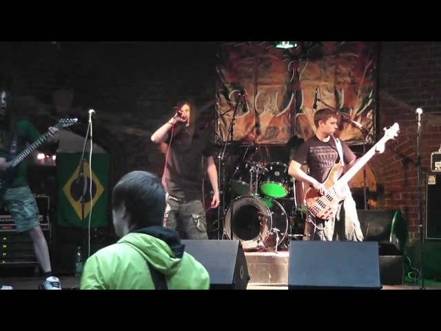 SoulRise Tribute to Soulfly Prophecy Der Wrangel Tower Kaliningrad 22 04 2012 vox by St