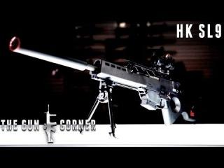 EvikeTV [The Gun Corner] - Heckler & Koch HK SL9 Electric Blowback AEG