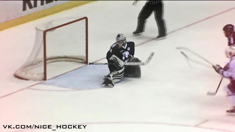 Klinkhammer first KHL goal nice hockey