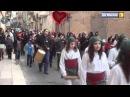 Enganxa't a la marxa, fem un riu de gent solidària. Marató de TV3 2011. Móra d'Ebre