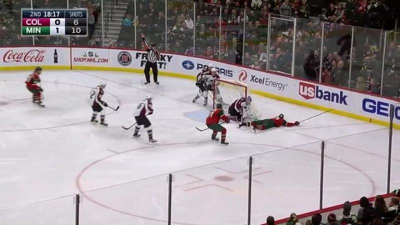 Миннесота Колорадо 2 0 21 12 2016 Обзор матча НХЛ