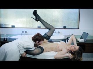 Bree Daniels & Stella Cox - Fantasy Massage (Lesbians, Big Tits, Masturbation, Massage)  HD 720p