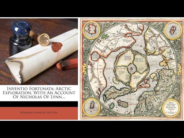 Verschwundenes Buch Inventio Fortunata Glückliche Entdeckung Flache Erde
