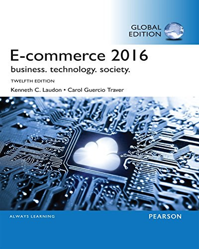 eCommerce 2016 Business- Technology- Society
