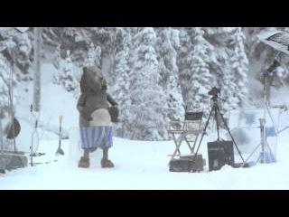 Медведь неожиданно появился на съемках (Кураж-Бамбей)
