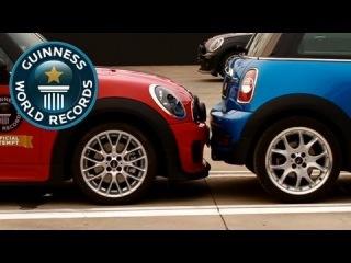 Установлен новый мировой рекорд по параллельной парковке.