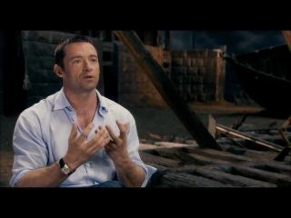 """Les Miserables """"Singing Live"""" Featurette Official HD 1080 - Hugh Jackman"""