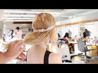 Экспресс укладка для кудрявых волос