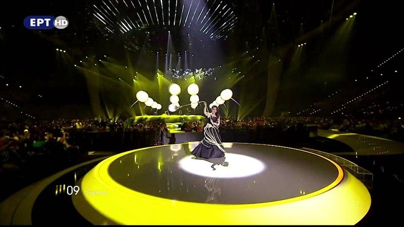 Eurovision 2011 Cyprus Christos Mylordos San Aggelos S'agapisa 2nd Semi Final