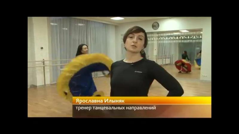 Цыганские танцы с Ярославной Илыняк на телеканале Енисей