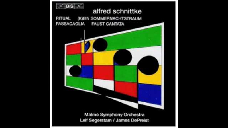 Schnittke - Faust Cantata VII. Es geschah (It came to pass)