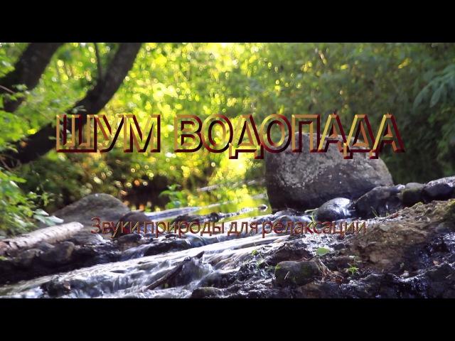 ШУМ ВОДОПАДА Звуки природы для релаксации ☂ 30 минут ☂ The Sound of Waterfall for Relaxation