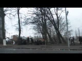 Снайпер. Кровавый бой на Институтской 20 февраля 2014. Майдан. Евромайдан.