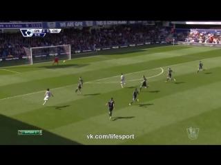 кпр - Челси 0:1 (0:0) (32 тур Чемпионата Англии 2014/15)