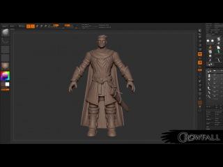 Crowfall – Knight Modeling