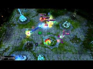League Of Legends - Epic comeback (HD)