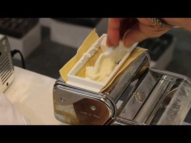 Marcato Atlas 150 Ravioli делаем равиоли пошаговый видео рецепт и инструкция