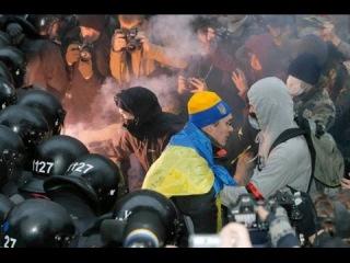 Киев. Столкновения с милицией под Верховной Радой. 14/10/2014