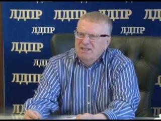 Владимир Жириновский: О выборах в Верховную Раду Украины /