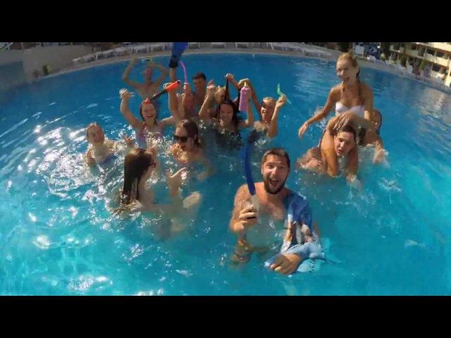 CTyK Pool Party Harlem shake in Bulgaria