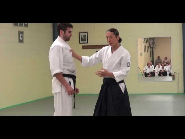 Mori Shihan 7th Dan Aiki-waza 2013 Aikido Brisbane Yoshinkan