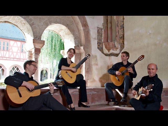 Barrios Guitar Quartet - live!- Piccinini Chiaconna