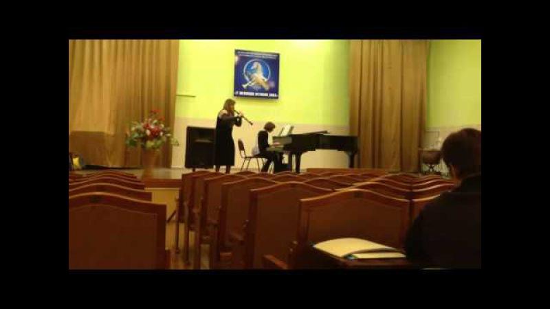 А Марчелло Концерт ре минор для гобоя с оркестром 2 я часть Адажио Исполняет Плыско Мария