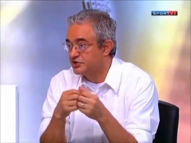 Odir Cunha ensinando futebol a Renato Maurício Prado e André Rizek | FATALITY