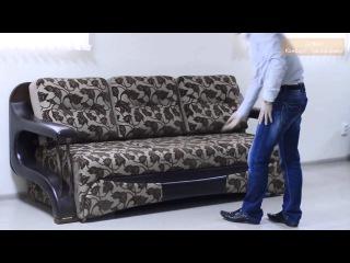 Видео обзор №2 дивана 'Комфорт Трансформер' три в одном - диван (кресло), стол, кровать.