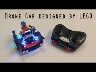[Byrobot Drone Fighter] Drone Car designed by LEGO