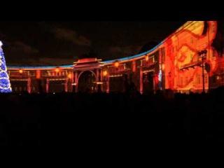 3D Шоу на Дворцовой площади. Санкт-Петербург