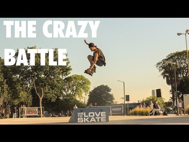 The Crazy Battle | Crazy People Shop | Roller Argentina | Derrapes Salto Slalom Aggressive