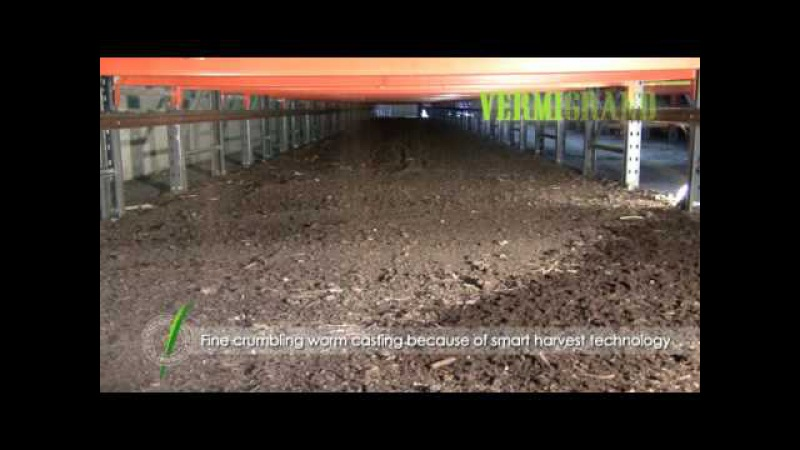 The advanced vermicomposting facility VERMIC 3 2 worm composting