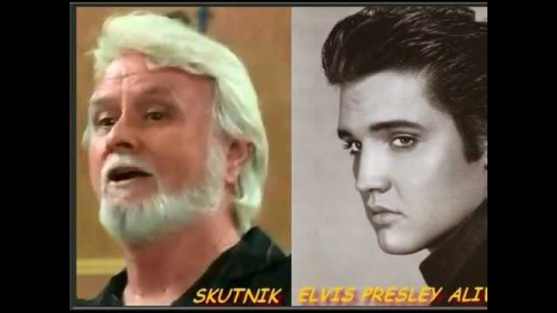 Yes KING Elvis Presley is alive and also allergy By Skutnik Michel