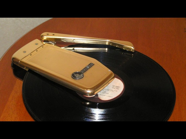 Проигрыватель грампластинок Emerson Wondergram Portable Turntable Emerson Wondergram