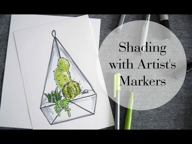 Shading with Art Markers Beginner Level Tips Tricks